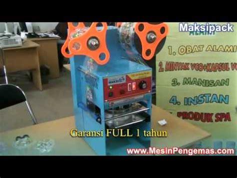 Harga Mesin Sealer Otomatis by Mesin Cup Sealer Otomatis Harga Ekonomis