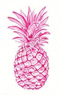 Geometric Duvet Covers Pink Pineapple Art Print By Laura Dro Society6