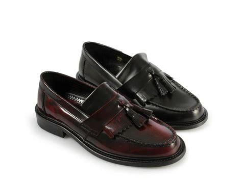 mens mod loafers ikon selecta mens mod ska skinhead polished leather tassle