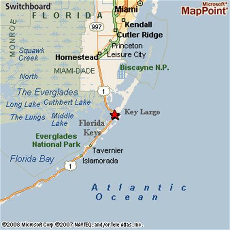 where is key largo florida map key largo florida