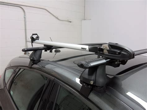 ford focus thule thruride roof bike rack thru axle mount