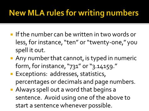 how to write numbers in a paper essay for numbers