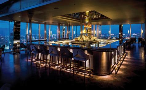 Bar At The Top Of The Shard dinner with a view aqua shard bar restaurant locappy