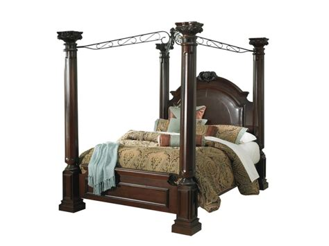 barcelona canopy bed american signature furniture