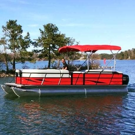 c e marine pontoon rentals destination lake hartwell - Lake Hartwell Pontoon Rentals