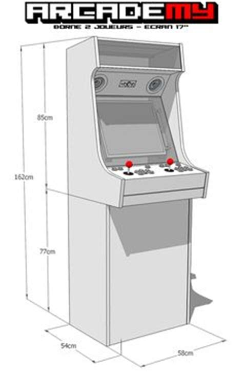 size arcade cabinet plans downloadable plans for creating a size arcade cabinet