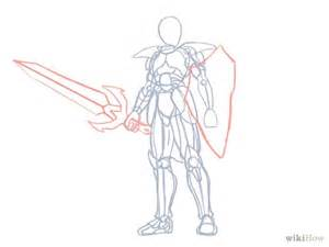 how to draw a knight with pictures wikihow