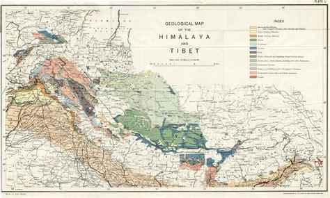 himalayan mountains map map of himalayas my
