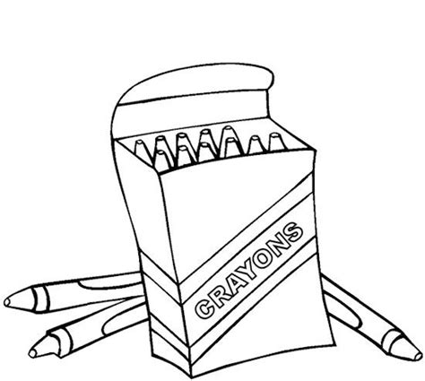 coloring pages with crayons online free coloring pages of crayon box