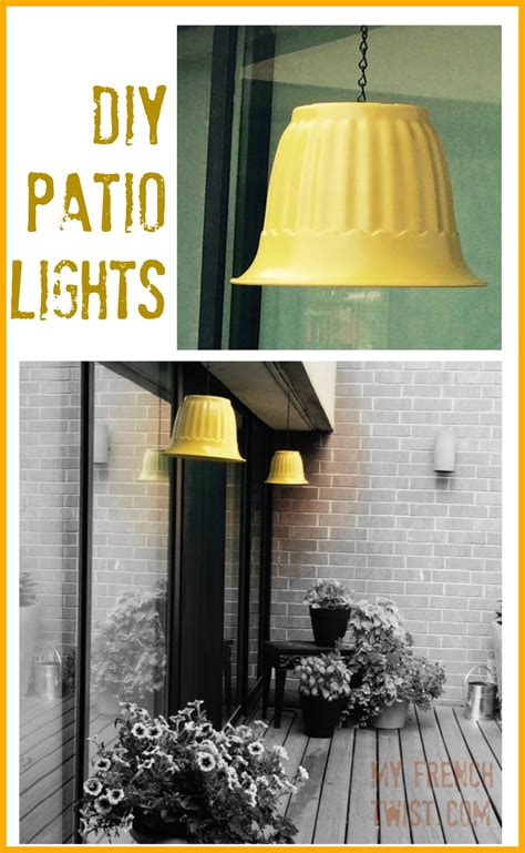 Diy Patio Lights Made Diy Patio Lights My Twist