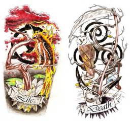 Symbols of life and death tattoos images amp pictures becuo