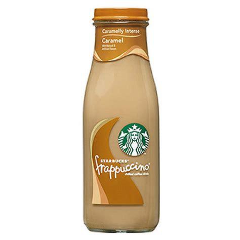 Starbucks Caramel Frappuccino 9.5 oz Glass Bottle   Pack of 15