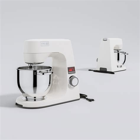 Kitchen Gear Standing by Dualit Stand Mixer Triangle Form 3d Models