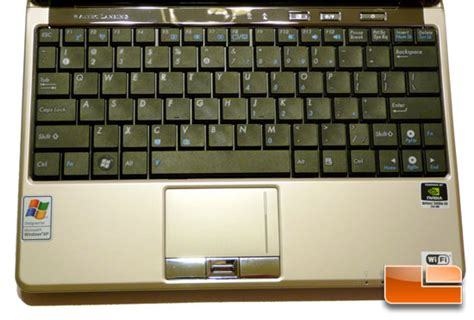 keyboard layout asus asus n10jc a1 netbook review atom n270 page 2 of 7