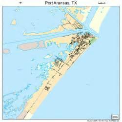port aransas map 4858808