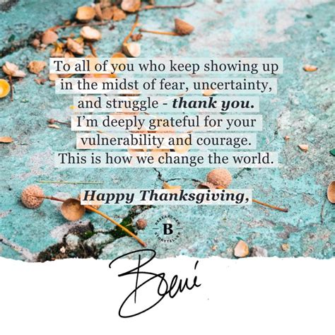 happy thanksgiving brown quotes happy thanksgiving bren 233 brown