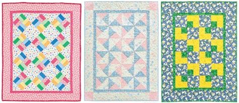 Easy Baby Quilt Pattern by Bust Your Stash With Baby Quilts Stitch This The