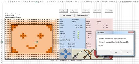 game design document exle how an accountant created an entire rpg inside an excel