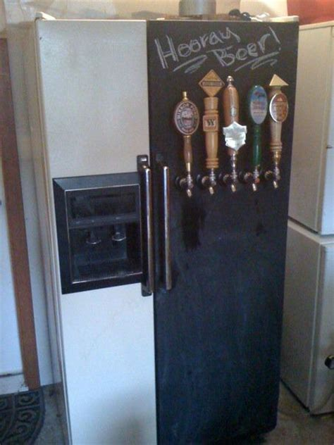 chalkboard paint kegerator 17 best images about homebrew on brewing