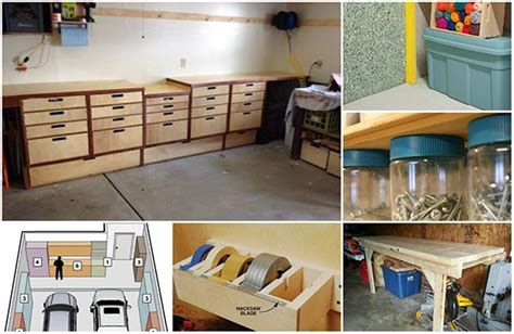 do it yourself garage shelves