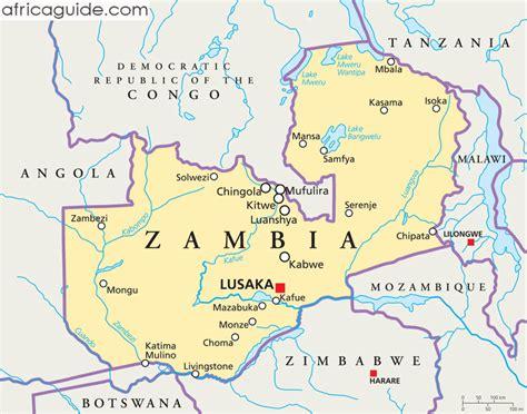 map of lusaka zambia guide