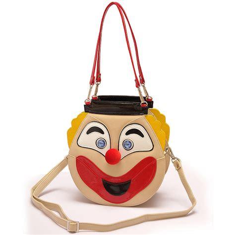 Tas Kain Big Clown aliexpress buy amliya smiley bags faced clown bag novelty bag unique bag