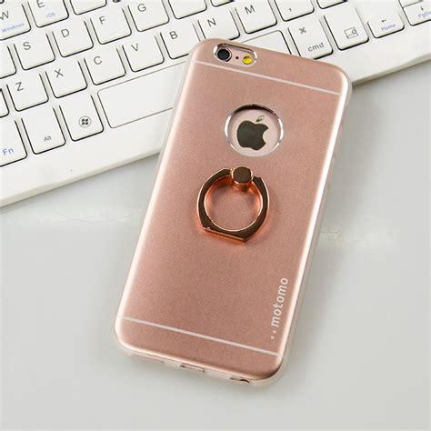 Hardcase Motomo Ring Iphone 6g 6s 360 176 rotating hybrid aluminum ring holder stand cover