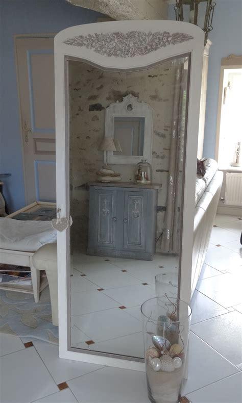 porte d armoire ancienne grand miroir d une ancienne porte d armoire patin 233 et