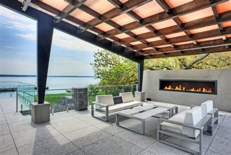 incredible contemporary patio designs   bring