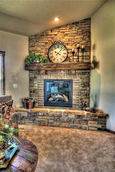 gemstone home decor 1000 ideas about corner fireplace mantels on pinterest
