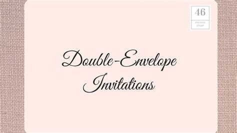 should wedding invitations two envelopes how to address wedding invitations southern living