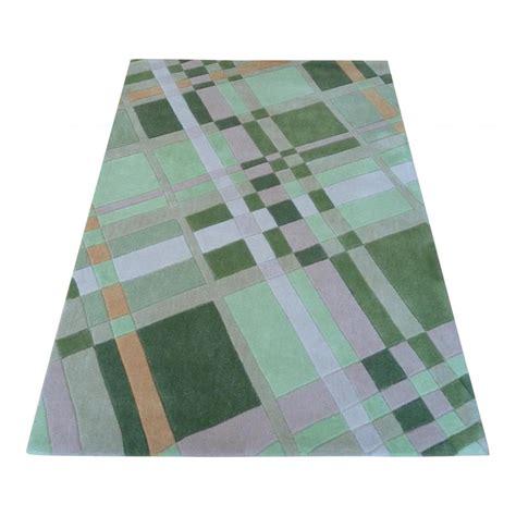 Plaid Rug by Green Infinite Funky Plaid Rug Carpet Runners Uk