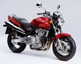 Honda cb600f hornet motorcycle review side view