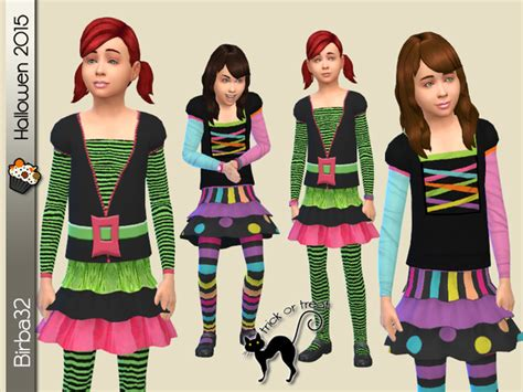 sims 4 halloween costumes halloween kids costumes by birba32 at tsr 187 sims 4 updates