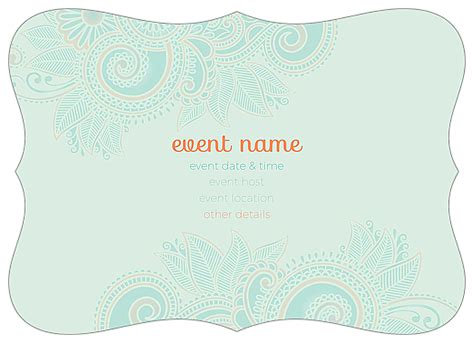 www psprint design templates greeting cards easy to use save the paisley invitation card design template