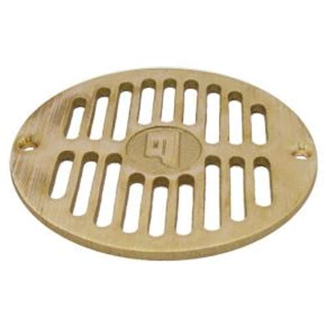 10 Inch Floor Drain Cover by Commercial 5 1 2 Quot Brass Floor Drain Strainer Etundra