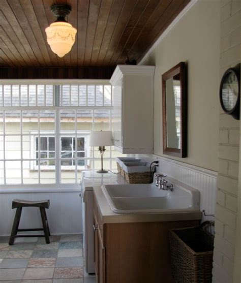 Beach Theme Bathroom Ideas stylish decors featuring warm rustic beautiful wood ceilings