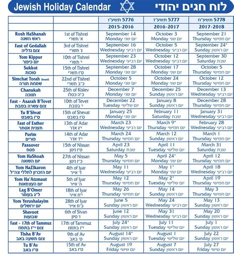 Calendar 2018 Israel Calendar 2018 2018 Calendar Printable