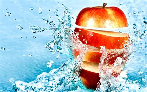 wallpaper blue food jabłko full hd tapeta and tło 2560x1600 id 263495