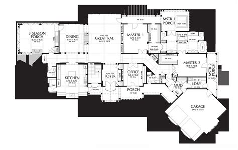house plan monte carlo spa suite floor unbelievable