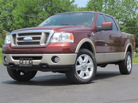 2007 ford f150 crew cab 2007 ford f150 king ranch 4x4 loaded 5 4l triton crew cab