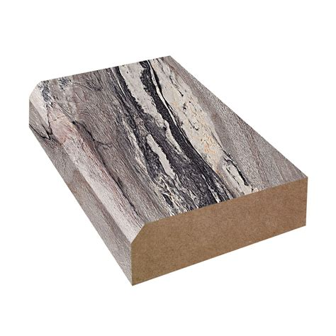 How To Finish Laminate Countertop Edges by Bevel Edge Laminate Countertop Trim Dolce Vita 3420