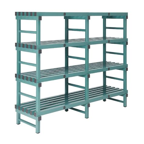 Shelf Plastic by Buy Rea Plastic Racking Static 1800 X 600 X 1600mm 4