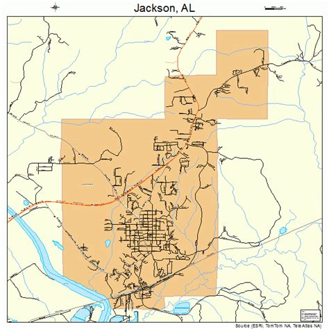 jackson map jackson alabama map 0138152