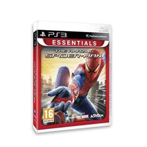 the amazing spider essentials ps3 sur playstation 3
