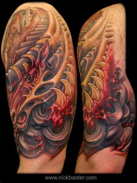 nick baxter tattoo apocalyptic warhorse by nick baxter tattoos