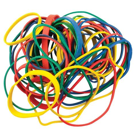 crown bolt 54 multi color rubber band 66097 the home depot