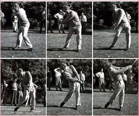 hogans swing how ben hogan discovered his secret swings and golf