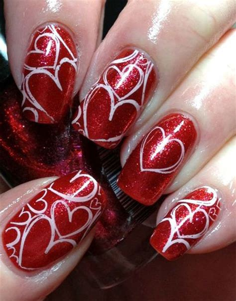 nails for valentines 25 best s day nail designs ideas vday