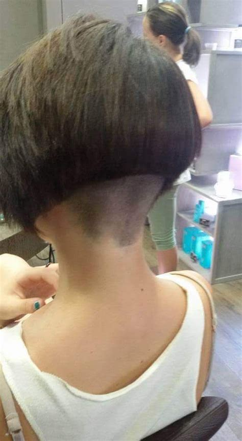 bob haircuts nape 156 best neck line images on pinterest bob hairs bobs